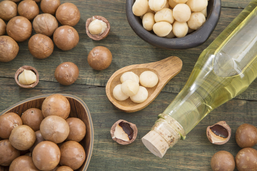 Macadamia nuts and oil