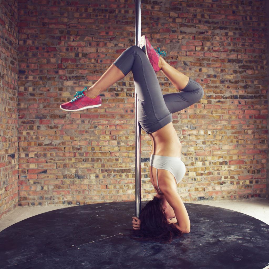 Pole dancer fitness
