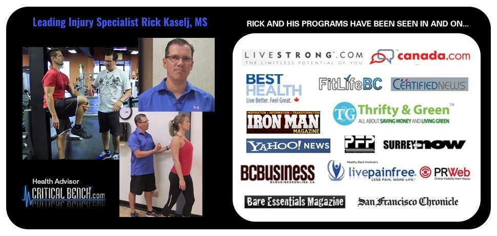 Rick Kaselj Unlock Your Hip Flexors