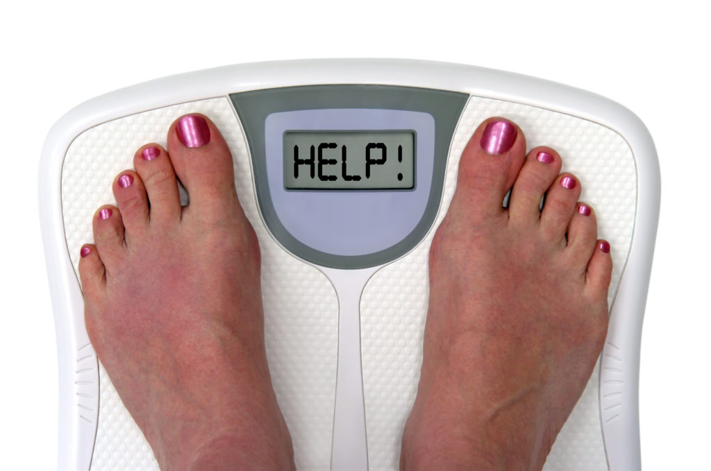 weight loss scale not moving