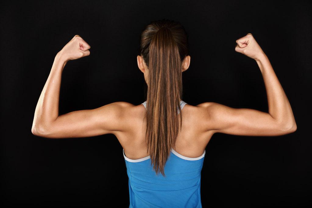 Как сделать руки сильными у девушек
