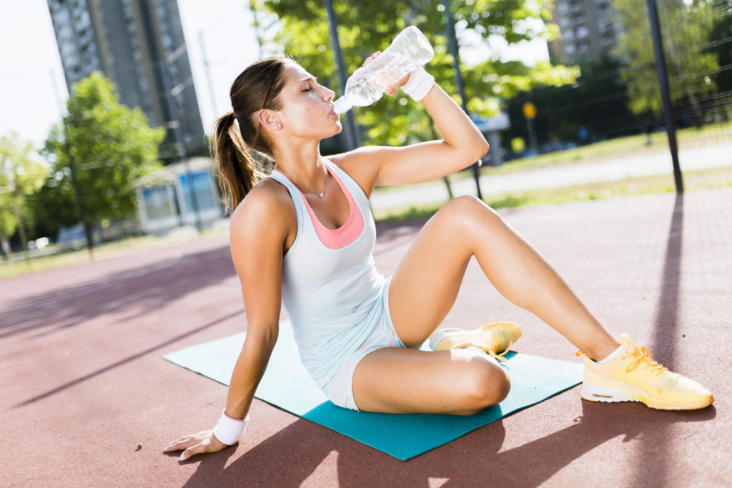 staying hydrated while exercising