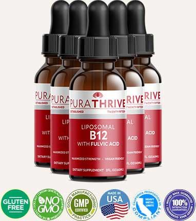 PuraTHRIVE Liposomal B12 review