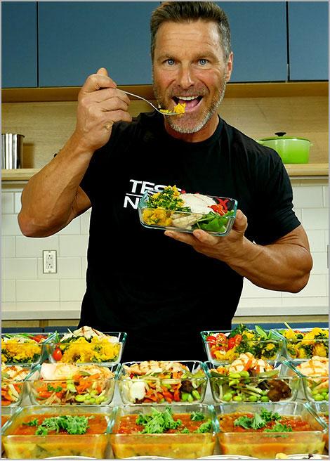 TestMax Nutrition Clark Bartram