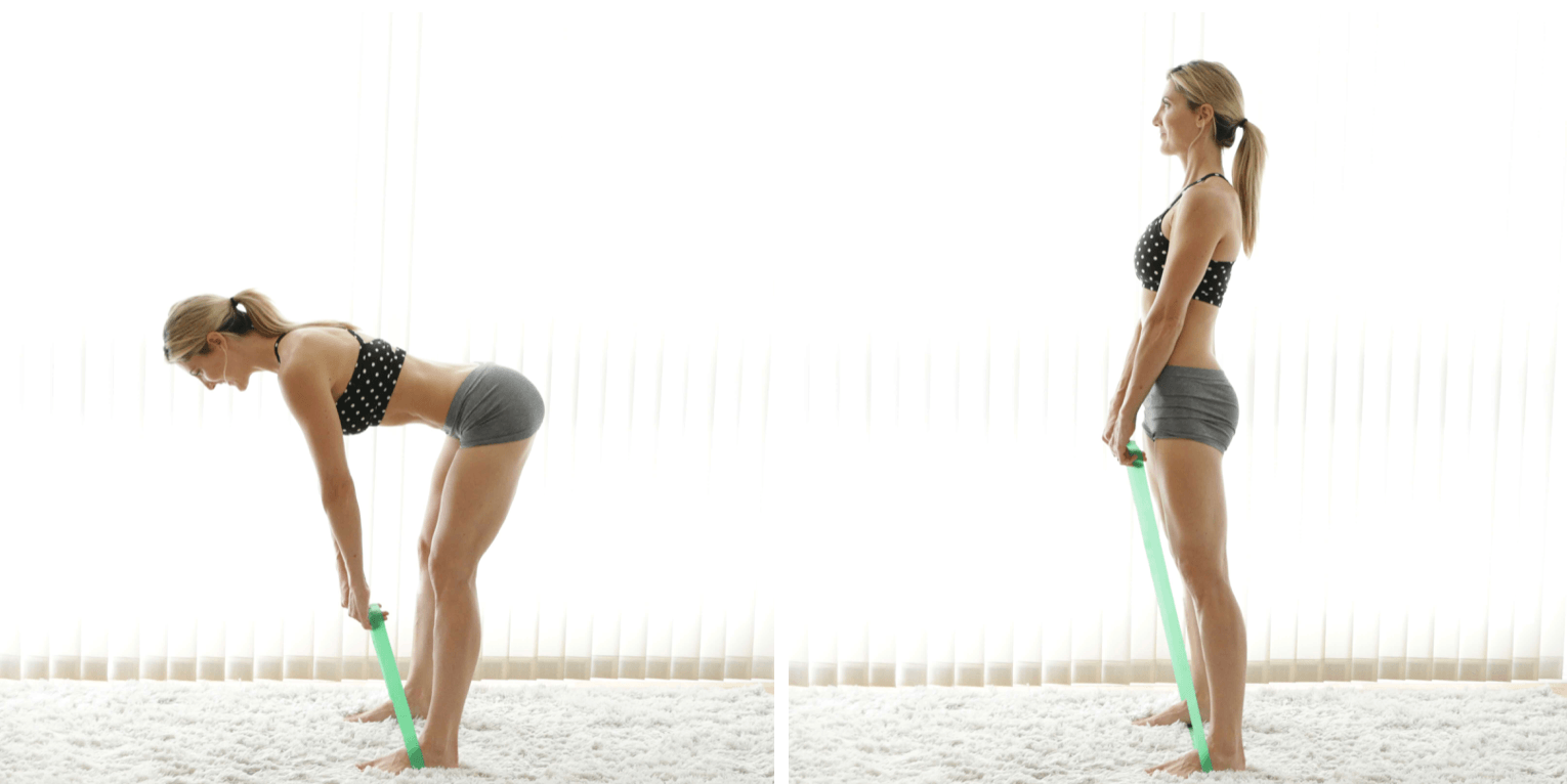 How To Use Stretch Bands To Tone Your Butt