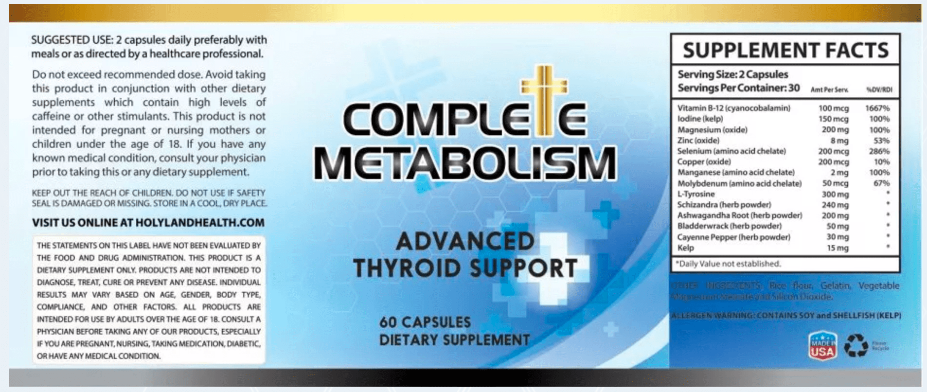 Complete Metabolism Review