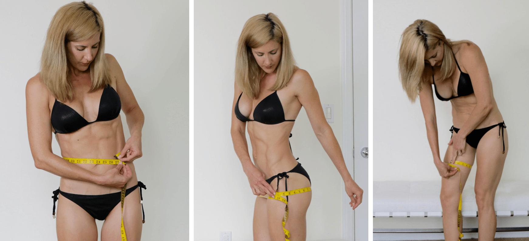 how to measure waist