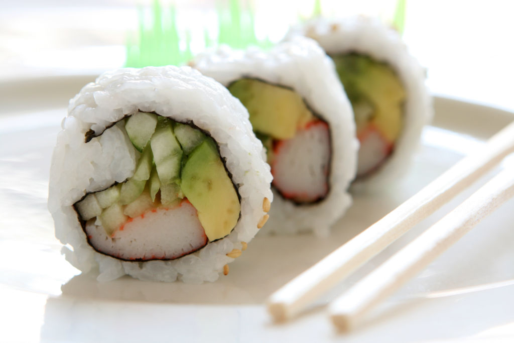 Lose Weight eating sushi