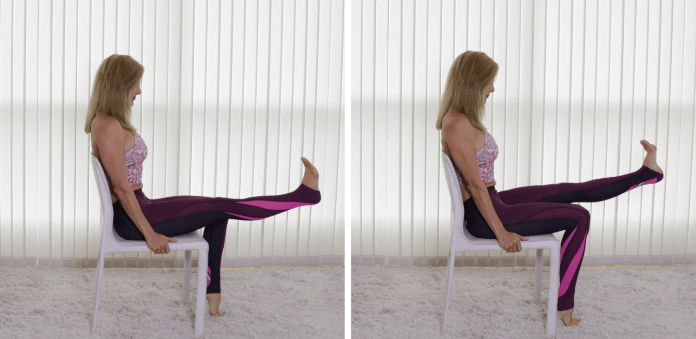 Seated Single Leg Extensions