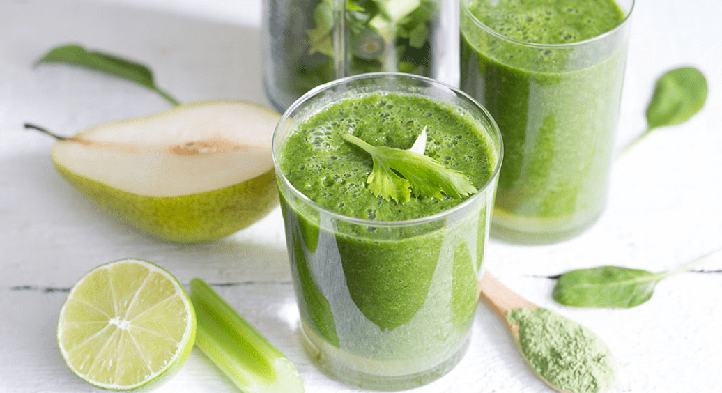 Green Pear Queen Smoothie