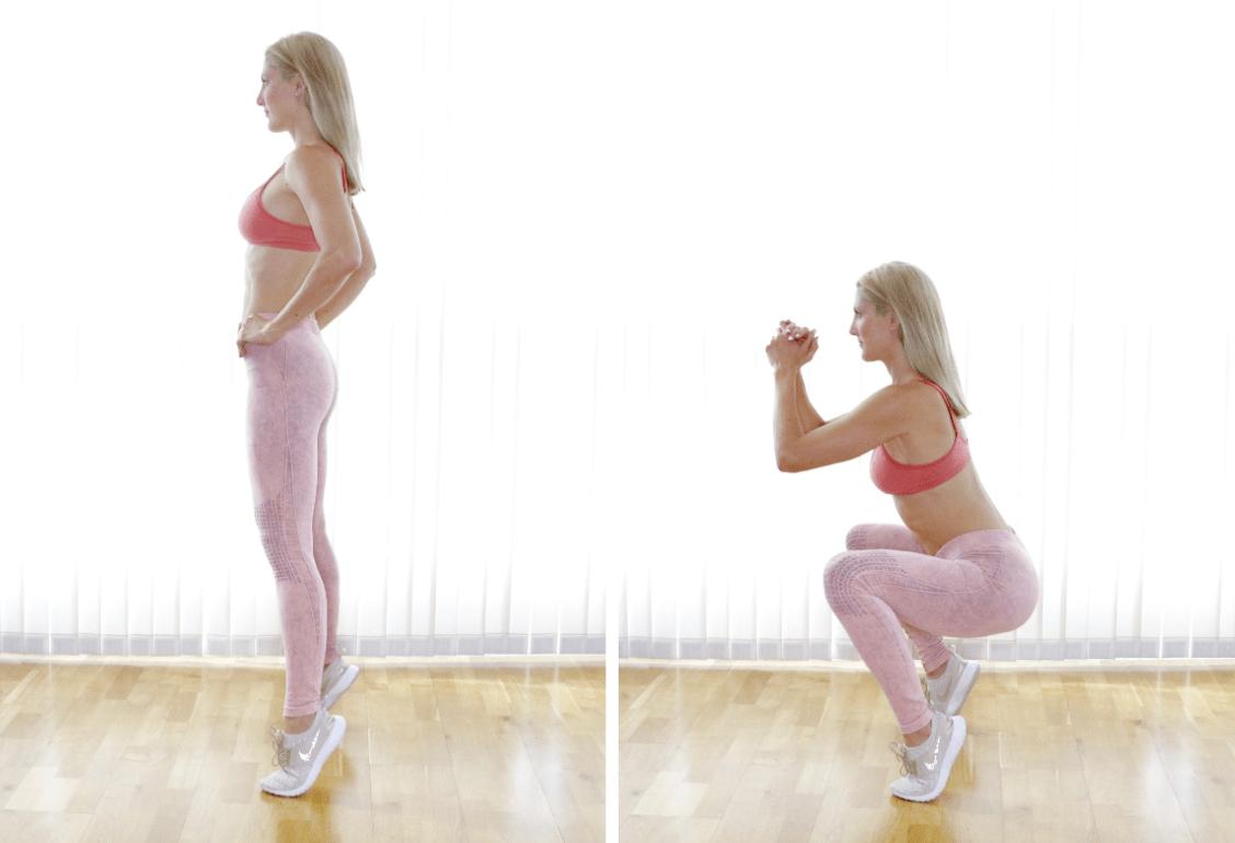 Tip Toe Squats