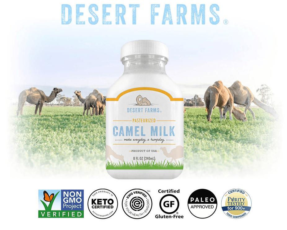 Desert Farm Camel Milk