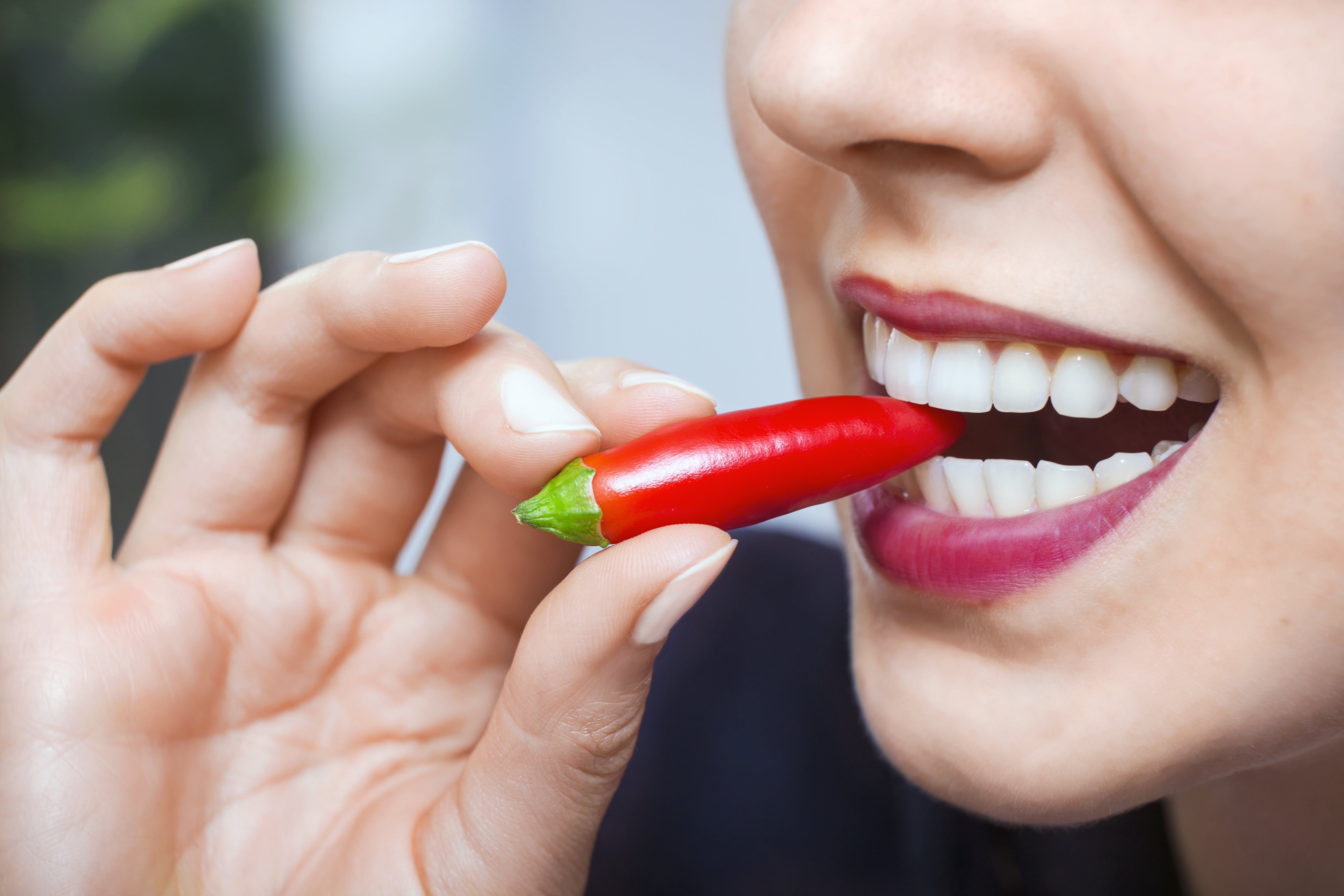 Eating spicy food to lose weight