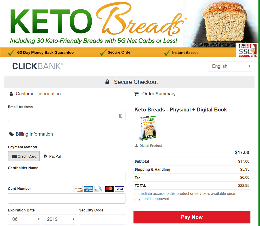 bread ketosis diet